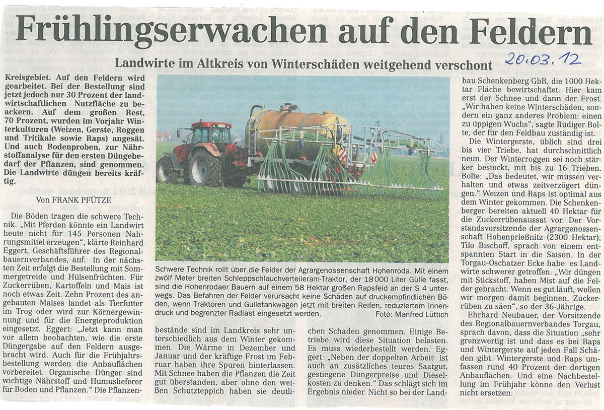 Presseberichte (2)