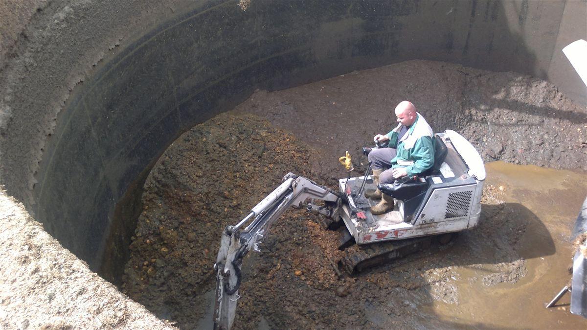 Reinigung Anmaischgrube